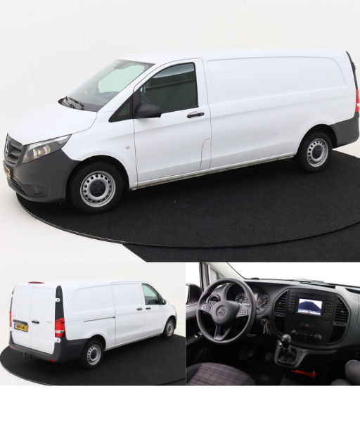 Mercedes Benz Vito EasyRent Shortlease